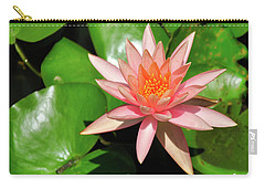 Single Flower Carry-all Pouch by Gandz Photography