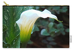 Single Lily  Carry-all Pouch