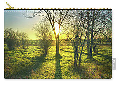 Carry-all Pouch featuring the photograph Single Moments by Phil Koch