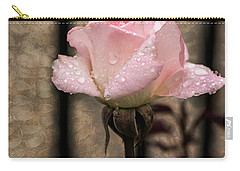 Single Pristine Carry-all Pouch by Judy Wolinsky