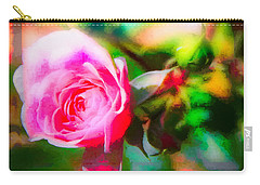 Single Rose11 Carry-all Pouch