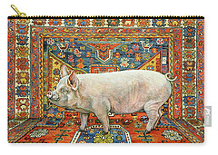 Singleton Carpet Pig Carry-all Pouch by Ditz