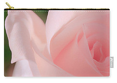 Singular Beautiful Pink Rose Carry-all Pouch