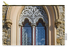 Carry-all Pouch featuring the photograph Sintra Window by Carlos Caetano