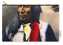 Sioux Chief Portrait Carry-all Pouch