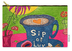 Sip Of Luv Carry-all Pouch