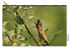 Carry-all Pouch featuring the photograph Sipping In The Shade by Susan Capuano