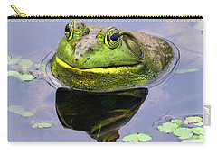 Sir Bull Frog Carry-all Pouch