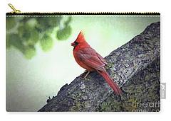 Sir Cardinal Carry-all Pouch