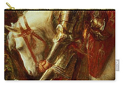 Sir Galahad Carry-all Pouch by George Frederic Watts
