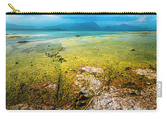 Carry-all Pouch featuring the photograph Sirmione by Traven Milovich