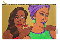 Sister Stuff Carry-all Pouch by Autumn Leaves Art