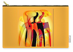 Sisters 4 Carry-all Pouch by Iris Gelbart
