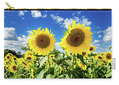 Carry-all Pouch featuring the photograph Sisters by Greg Fortier