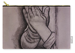 Sisters' Hands Carry-all Pouch by Christy Saunders Church