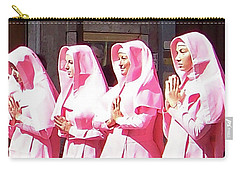 Sisters In Pink Carry-all Pouch