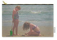 Sisters In The Sand Carry-all Pouch