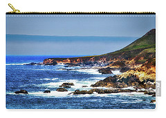 Sit And Stare Beach Carry-all Pouch by Joseph Hollingsworth
