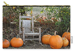 Carry-all Pouch featuring the photograph Sit With Me by Sheila Brown