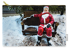 Sit With Santa Carry-all Pouch