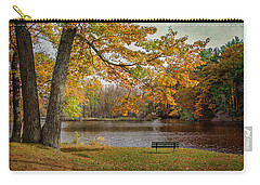 Sittin On The Banks Carry-all Pouch by Susan McMenamin