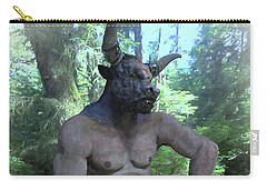 Sitting Bull Carry-all Pouch by Joaquin Abella