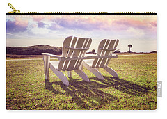 Carry-all Pouch featuring the photograph Sitting In The Sun by Debra and Dave Vanderlaan