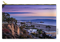 Sitting On The Fence - Santa Monica Pier Carry-all Pouch