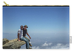 Sitting On Top Of The World Carry-all Pouch