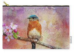 Sitting Pretty Carry-all Pouch by Geraldine DeBoer