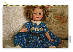 Carry-all Pouch featuring the photograph Sitting Pretty by Marna Edwards Flavell