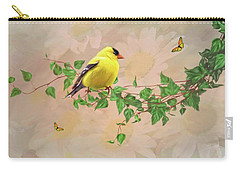 Sitting Pretty Carry-all Pouch by Mary Timman
