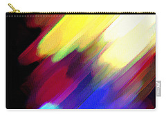 Carry-all Pouch featuring the painting Sivilia 1 Abstract by Donna Corless
