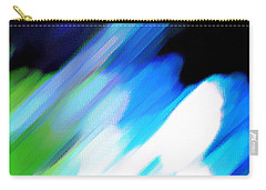 Carry-all Pouch featuring the painting Sivilia 10 Abstract by Donna Corless