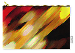 Carry-all Pouch featuring the painting Sivilia 11 Abstract by Donna Corless