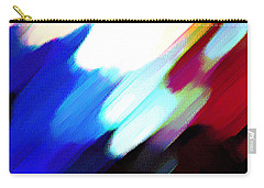 Carry-all Pouch featuring the painting Sivilia 12 Abstract by Donna Corless