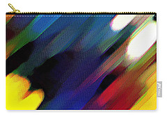 Carry-all Pouch featuring the painting Sivilia 4 Abstract by Donna Corless