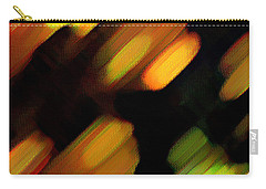 Carry-all Pouch featuring the painting Sivilia 6 Abstract by Donna Corless