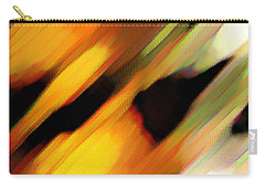 Carry-all Pouch featuring the painting Sivilia 8 Abstract by Donna Corless