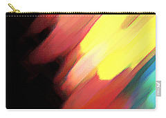 Carry-all Pouch featuring the painting Sivilia 9 Abstract by Donna Corless