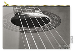 Six Guitar Strings Carry-all Pouch by Angelo DeVal