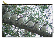 Carry-all Pouch featuring the photograph Six In A Row by Evelyn Tambour