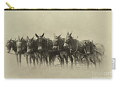 Six Mules, And One More Carry-all Pouch by Nicki McManus