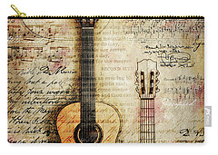 Six String Sages Carry-all Pouch