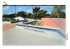 Carry-all Pouch featuring the photograph Skate Park by Ray Shrewsberry