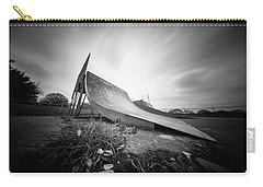 Carry-all Pouch featuring the photograph Skate Ramp Pinhole Photo  by Will Gudgeon