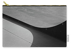 Carry-all Pouch featuring the photograph Skateboard Ramp by Richard Rizzo