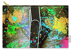 Skating Pop Art Carry-all Pouch