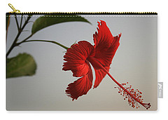 Skc 0450 Vibrant Hibiscus Carry-all Pouch