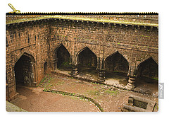 Skc 3278 The Ancient Courtyard Carry-all Pouch by Sunil Kapadia